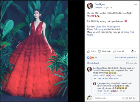 Mới kết thúc được 2 ngày, cư dân mạng đã tìm được ứng viên cho Hoa hậu Hoàn vũ 2019