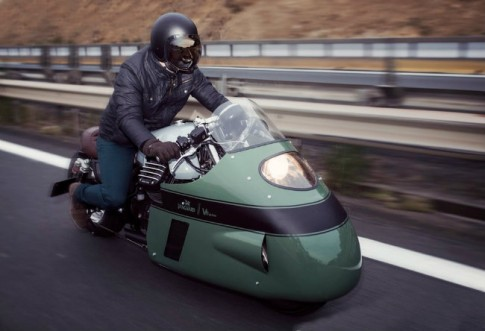 Moto Guzzi V8 độ cực chất của dân chơi phương Tây