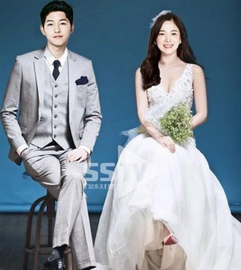 Ngắm hình 'váy cưới tin đồn' khiến fan càng mong chờ được thấy cô dâu Song Hye Kyo