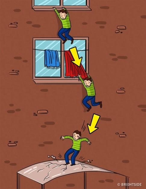 Những cách sinh tồn khi bị rơi từ trên cao, ai cũng nên biết để sống sót