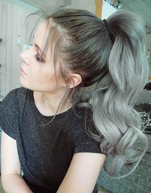 Những màu tóc nhuộm lên ngôi trong mùa đông năm nay