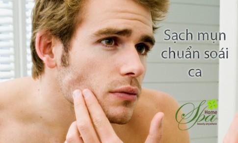 Spa, chăm sóc da mặt tối ưu cho nam giới