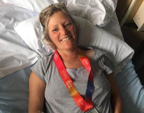 Suýt chết vì uống nước quá nhiều khi chạy marathon