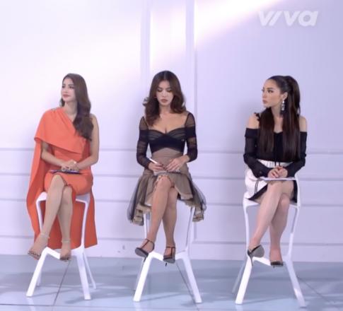 The Look tập 3: Chán style cá tính, Kỳ Duyên quay lại phong cách hoa hậu 'cạnh tranh' cùng Phạm Hương