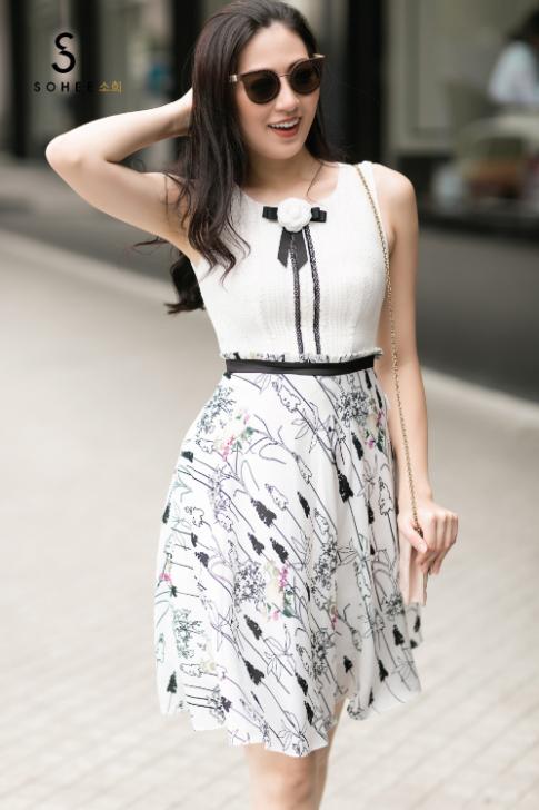 Tú Anh làm 'nàng thơ' cho BST mới của Sohee