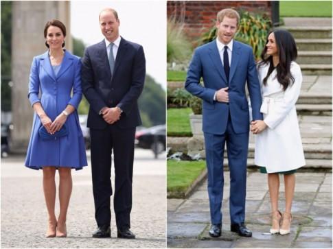 Vừa đính hôn với Hoàng tử Harry, phong cách thời trang của Meghan Markle và Kate Middleton ngay lập tức được đặt lên bàn cân