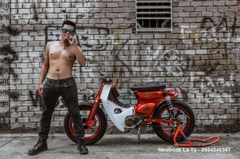 Xe Cub Độ của Tay Biker Sài Gòn