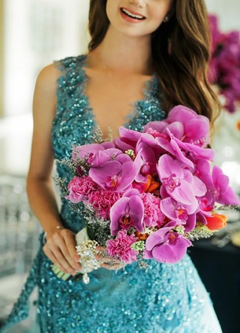 14 bo hoa cuoi lang man cho co dau
