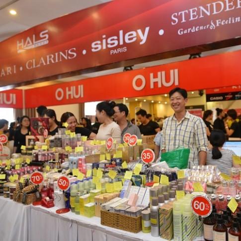 300 thương hiệu cao cấp giảm 50% tại Hà Nội và Hải Phòng