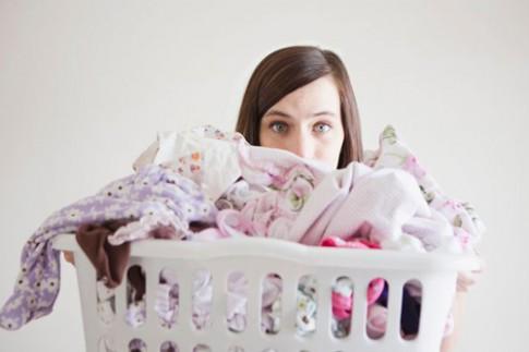 8 thảm họa giặt giũ đối với các bà mẹ