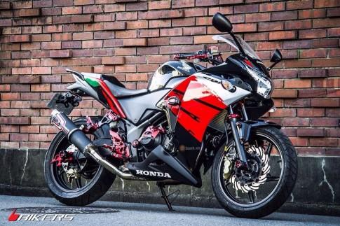 Bản độ full option Biker đầy chất chơi từ Honda CBR150R