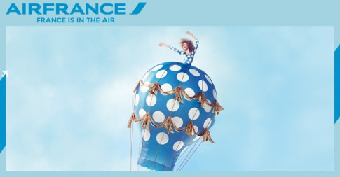 Bay cao, bay xa cùng khuyến mãi Air France Oh LaLa