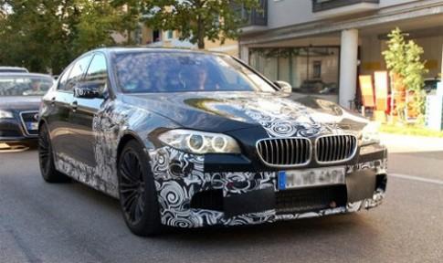 BMW M5 thế hệ mới trên đường thử