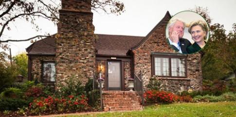 Căn nhà đầu tiên của vợ chồng Cựu đệ nhất phu nhân Mỹ