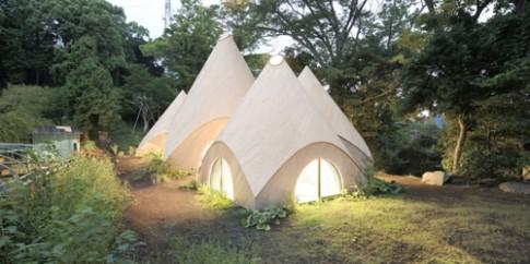Choáng ngợp ngôi nhà trong rừng đẹp như truyện cổ tích