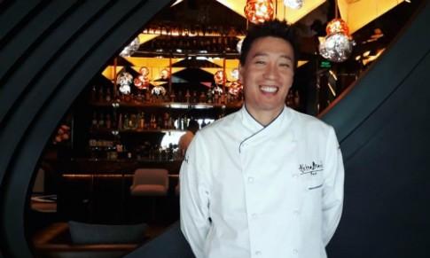 Đầu bếp sao Michelin mang món Nhật Bản hiện đại đến Hà Nội