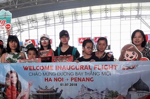 Du khách Hà Nội bay thẳng Penang chỉ 3 tiếng