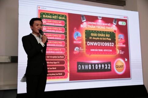Du khách Sun World trúng thưởng chuyến du lịch vòng quanh thế giới cho cả gia đình