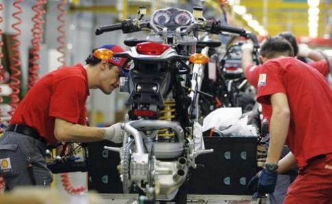 Ducati sản xuất môtô tại Thái Lan