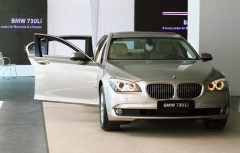 Giá xe BMW chính hãng tăng từ 2011