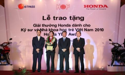 Giải thưởng Honda Yes Award 2010