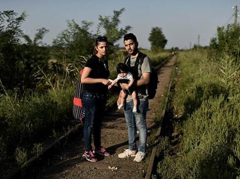 Hành trình tị nạn chân thực của em bé Iraq 4 tháng tuổi