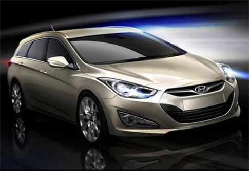 Hình ảnh đầu tiên của Hyundai i40