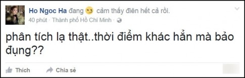 Hồ Ngọc Hà 'phát điên' vì bị đem ra so sánh 'đụng hàng' với Minh Hằng sau scandal