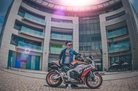 Honda CBR1000RR Repsol mạnh mẽ giữa lòng Sài Gòn