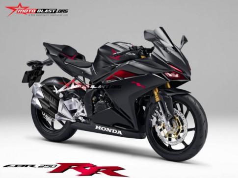 Honda CBR250RR hoàn toàn mới sẽ chính thức ra mắt tại Indonesia vào ngày 25/07