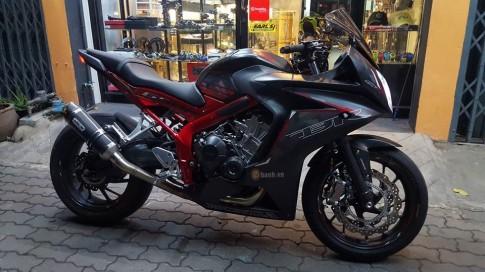 Honda CBR650F đầy kiêu sa khoe dáng trên đất Thái