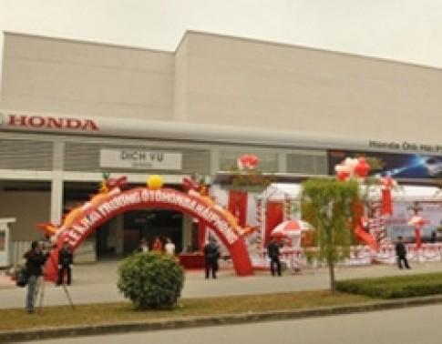 Honda khai trương đại lý chuẩn 5S tại Hải Phòng