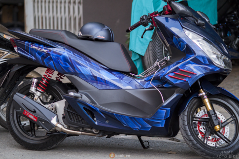 Honda PCX trong bản độ 3D với tên gọi Never Say No