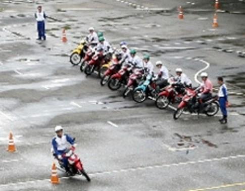 Honda Việt Nam đẩy mạnh việc hướng dẫn lái xe an toàn