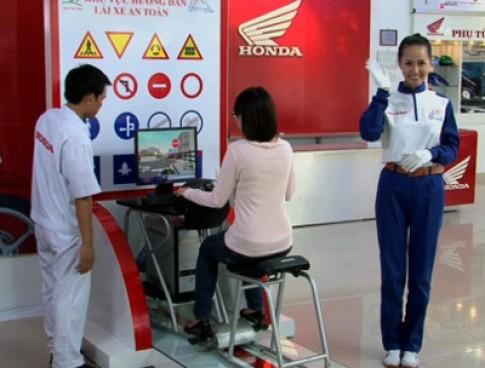 Honda Việt Nam mở rộng hướng dẫn lái xe an toàn