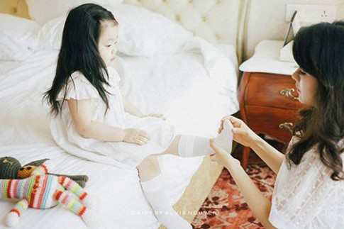 MC xinh đẹp mách kinh nghiệm chọn trường mầm non ở Hà Nội