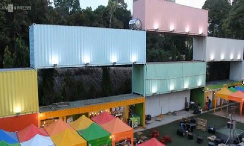 Mô hình chợ container đầu tiên có mặt tại Cần Thơ