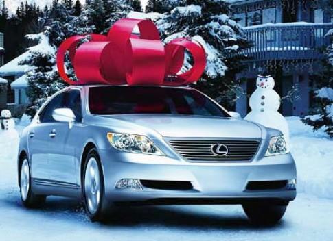 Mua xe hơi làm quà tặng