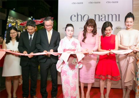 Mỹ phẩm Cho Nami khai trương cửa hàng đầu tiên tại Việt Nam