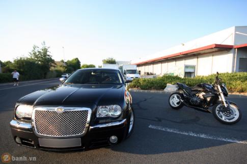 Naked Bike cơ bắp CB1000R đọ dáng cùng Chrysler
