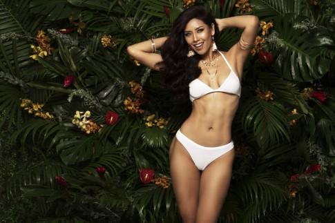 Ngắm đường cong 'bỏng mắt' của Nguyễn Thị Loan trước thềm Chung kết Miss Universe 2017