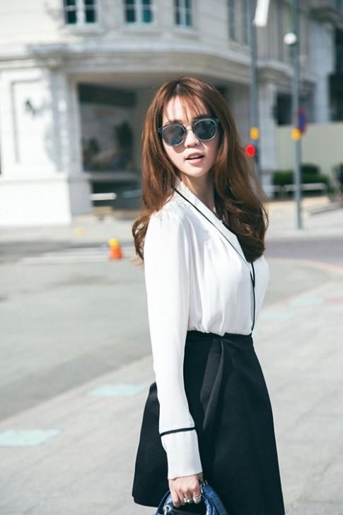 Ngọc Trinh háo hức tham dự chung kết Hoa hậu Hàn Quốc 2016