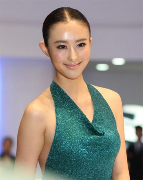 Người đẹp triển lãm ôtô Quảng Châu
