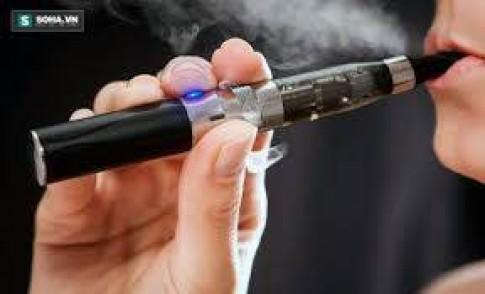Nguy cơ ung thư từ thuốc lá điện tử cao gấp 15 lần thuốc lá điếu