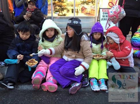 Những điều quan trọng phải dạy trẻ trong mùa đông