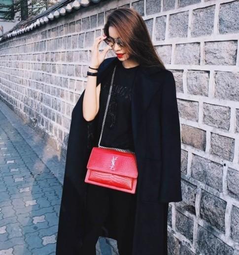 Phạm Hương, Phí Phương Anh, Hoàng Ku đồng loạt khoe street style 'hàng hiệu' tại Seoul Fashion Week