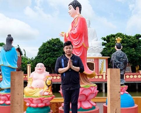 Quang Lê, Nam Em vượt đường xa đi từ thiện dịp Trung thu