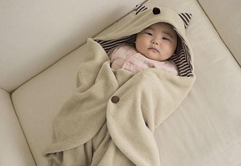Quy tắc cần nhớ khi ủ ấm trẻ nhỏ mùa đông