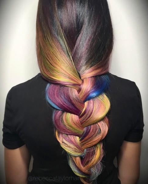 'Sướng' mắt với những mái tóc nhuộm rực rỡ cho ngày hè