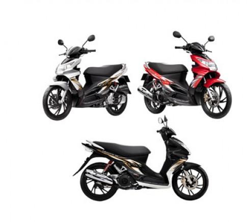 Suzuki Việt Nam ra mắt Hayate phiên bản mới